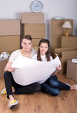 House Moving Royalty Free Stock Photography