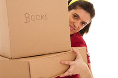 House moving Royalty Free Stock Images