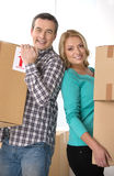 House moving. Royalty Free Stock Image
