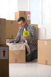 House moving. Royalty Free Stock Photography