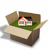 House Moving. Royalty Free Stock Photo