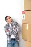 House moving. Royalty Free Stock Images