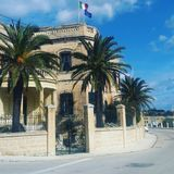A Maltese house. A house in Msida. Malta Royalty Free Stock Image
