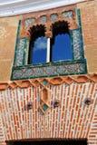 House of mullioned window, Casa del Ajimez, Zafra, province of Badajoz, Extremadura, Spain Stock Photos