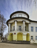 House of Muromtseva (building of former girl school) in Kasimov. Ryazan oblast. Russia Stock Photography