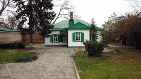 House-museum of Anton Chekhov, Taganrog, Rostov region, Russia, November 15, 2014 Royalty Free Stock Photo