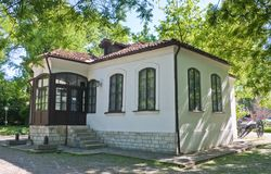 House-museum  to   Tsar Alexander II in Pleven Stock Image