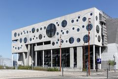 The House of Music in Aalborg, Denmark Stock Photos