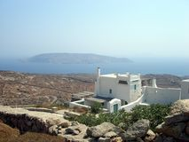 House on Mykonos Stock Image