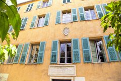 House of Napoleon Bonapart in Ajaccio France Stock Image