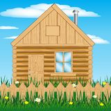 House on nature Stock Photos
