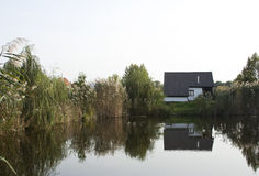 House in Neajlov Delta Stock Photography