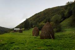 The house near Gona village in Racha, Georgia Royalty Free Stock Photography