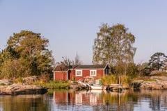 House near Oxelosund in Sweden Stock Photos