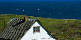 House near the sea Royalty Free Stock Photo
