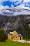 House near Trollstigen - Norway Stock Image