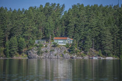 House near the waterfront at five sea Royalty Free Stock Photography