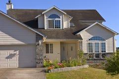 House in a neighborhood. Stock Image