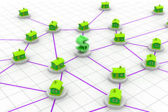 House network Stock Photo