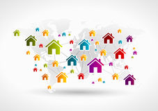 House network Royalty Free Stock Photography