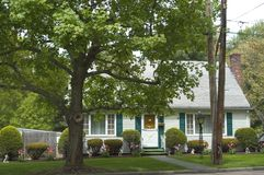 House. New England Royalty Free Stock Images