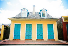 House in New Orleans French Quarter Royalty Free Stock Photography