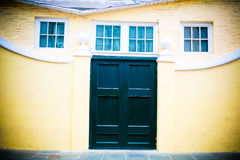 House in New Orleans French Quarter Royalty Free Stock Photo