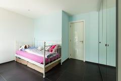House, nice bedroom Stock Photos