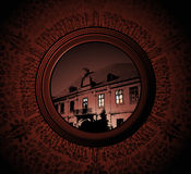 house night Στοκ εικόνες με δικαίωμα ελεύθερης χρήσης