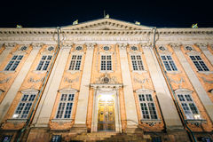 The House of Nobility, Riddarhuset, at night, Galma Stan, Stockh Royalty Free Stock Photos