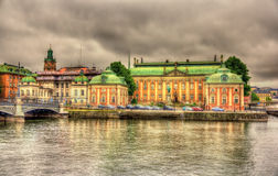 House of Nobility - Riddarhuset in Stockholm Royalty Free Stock Photography