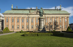 The House of Nobility Stockholm Royalty Free Stock Images