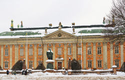 House of Nobility in winter Stockholm Stock Photo