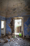 House of nobles ruined vertical Stock Photos