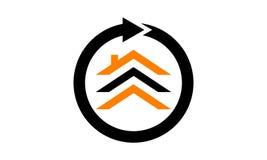House Nomad Logo Design Template. Vector vector illustration