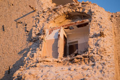 House of Norcia total collapsed Royalty Free Stock Photography