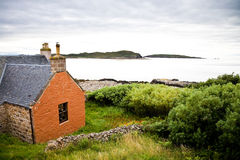 House in Northern Highlands, Scotland royalty free stock images