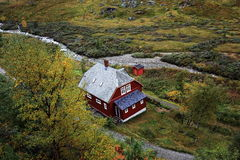 House in  Norway Stock Images