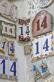 House number 14 Royalty Free Stock Photos
