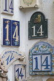 House number 14 Royalty Free Stock Image