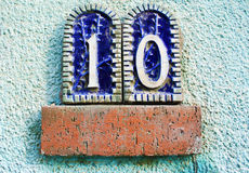 House number Stock Photography