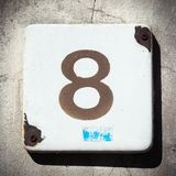 House number Stock Image