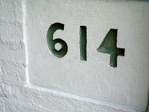House Number, 614 Stock Images