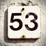 House number Stock Images