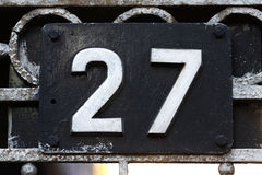 House number Royalty Free Stock Photography
