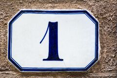 House number one  1
