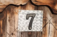 House number Royalty Free Stock Photo