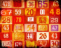 House numbers Stock Images