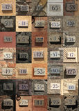 House numbers Stock Photos