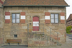 House in Nuremberg, Germany Stock Photo